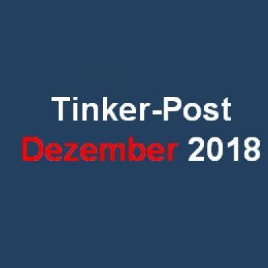 Tinker-Post Dezember 2018